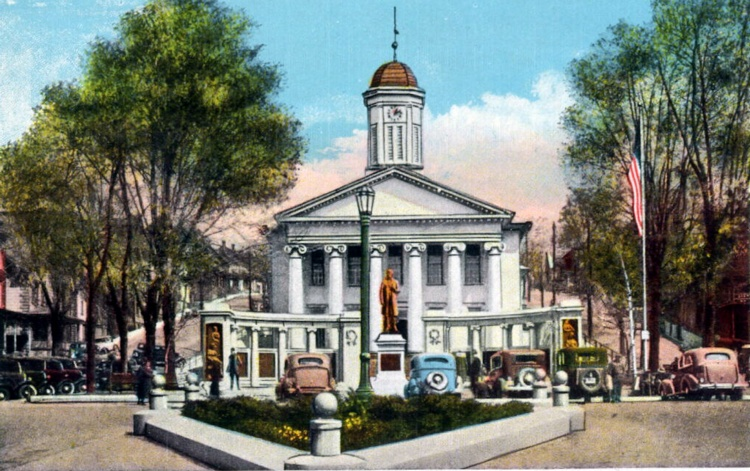 The Diamond and Courthouse, Bellefonte, PA