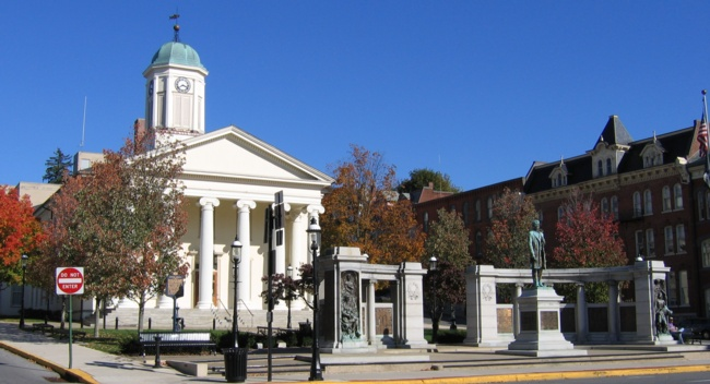 The Courthouse, Bellefonte, PA