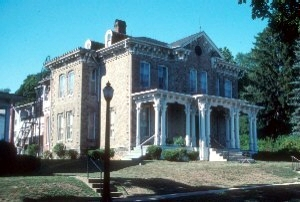 Italianate style mansion, Bellefonte, PA