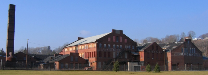 A Virtual Walking Tour of Bellefonte, Pennsylvania: Match Factory